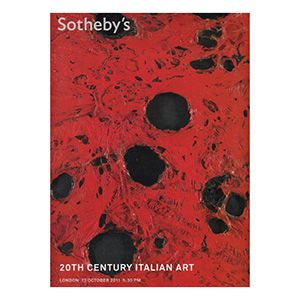 Sotheby's 20th Century Italian Art October 2011